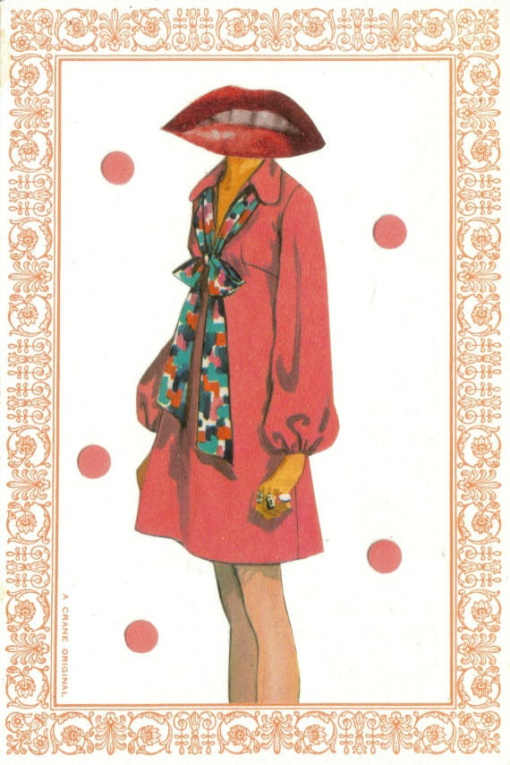 Original,Collage,Art,,Retro,Fashion,Artwork,Original Collage Art, Retro Fashion Artwork