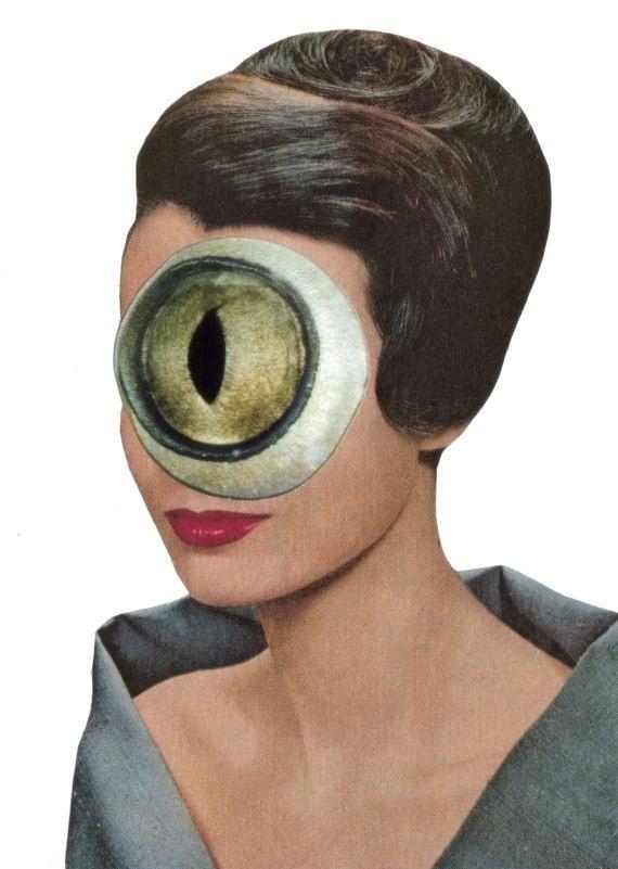Original,Collage,Art,,Weird,Surreal,Artwork,Original Collage Art, Weird Surreal Artwork