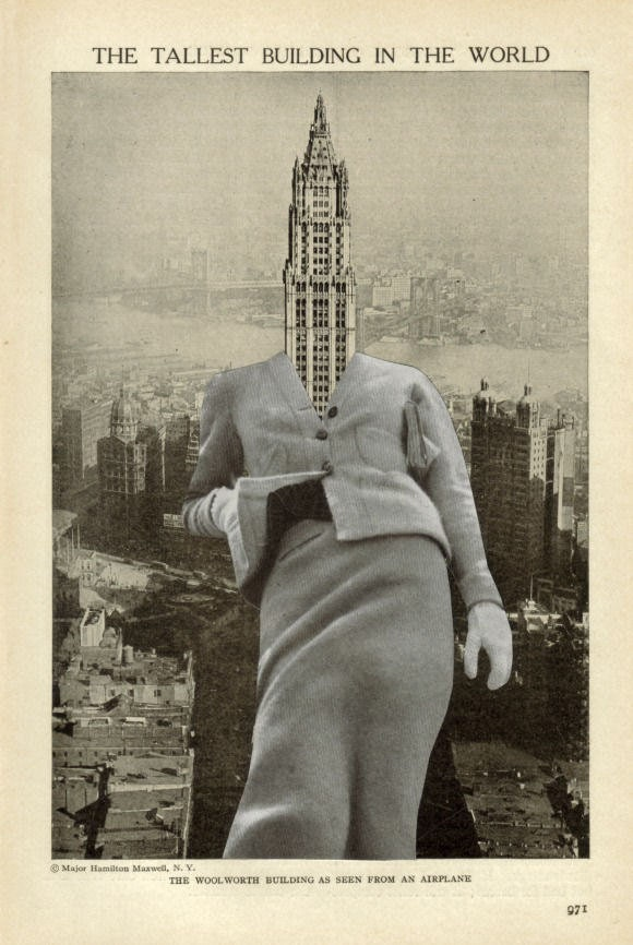 Original,Collage,Collage,,Surreal,Architecture,Artwork,Original Collage Collage, Surreal Architecture Artwork