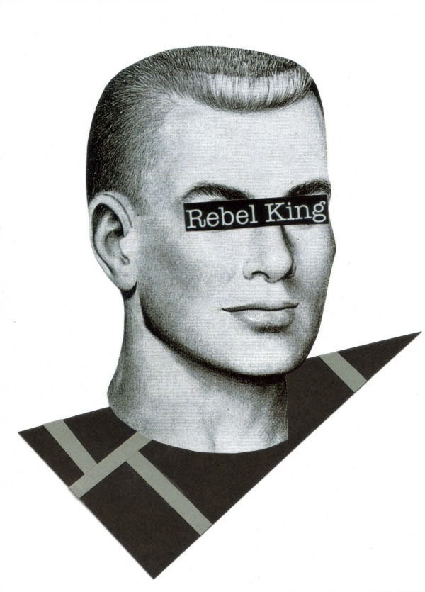 Original,Collage,Art,,Punk,Rebel,Artwork,Original Collage Art, Punk Rebel Artwork