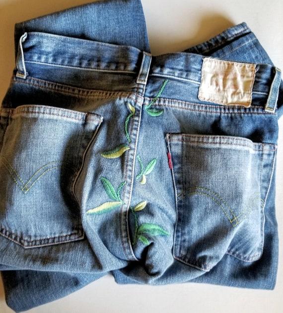 LEVI'S 1950's 701 Women's Ribcage Jeans, Levi's Vi