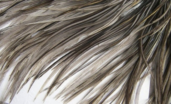 Fly Tying Crafts Warm Tones 15 Pc Wide Accent Feather Hair Extenions
