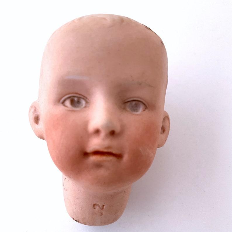 Germany porcelain doll head 3 image 0