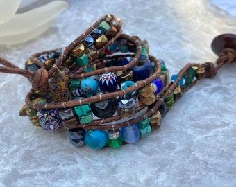 Desert Sunset Wrap Bracelet