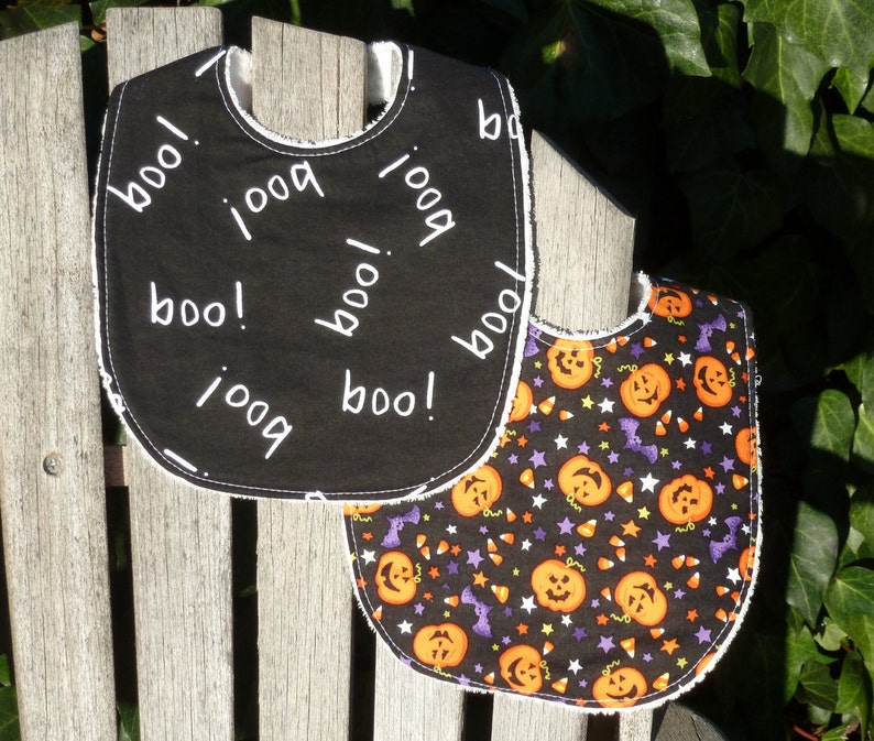 Baby Bib Set  Happy Halloween 151 image 0