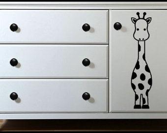 Geri Giraffe Instant Download SVG Digital Cut File f or Cricut, Cricut Maker,Silhouette w DE, Wall Art, Decor, Make up to 24in H, Dresser