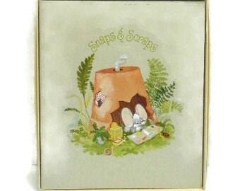 Vintage 1976 Hallmark Scrapbook In Original Box    Cheddar & Co. Design Hallmark Scrapbook