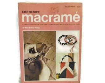 Macrame Instruction Book   Step-by-Step Macrame