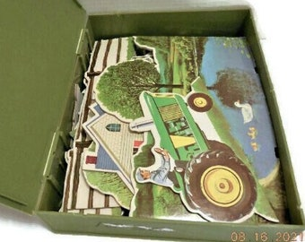 Visiting The Farm Instructo Activity Kit   Play and Learning Activity Kit In Original Box