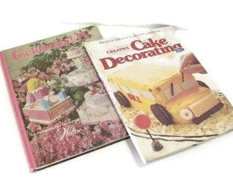 Two Vintage Cake Decorating Instruction Books | Wilton & Better Homes