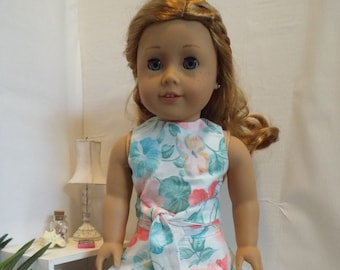 """Floral Romance-3 Piece Outfit-Fits 18"""" dolls LIKE American Girl"""
