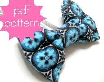 Bowtie - INSTANT download - PDF Sewing Pattern - nb, 6m, 12m, 18m, 2t, 3t, 4t, 5t
