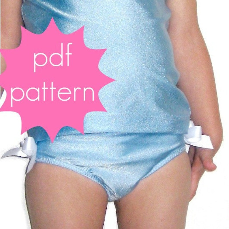 Basic Brief Bottoms  INSTANT download  PDF Sewing Pattern  image 0