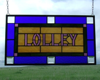 Stained Glass Window Panels, Custom Stained Glass Artwork Design