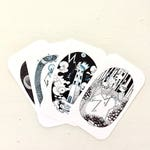 IN STOCK NOW - Skeleton Tarot Deck