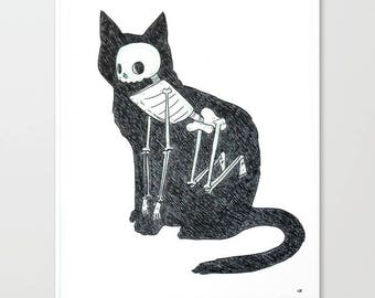 Cat Animus 8x10 Print