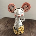 "Original Hand Sculpted Ceramic Figurine ""Grace"""