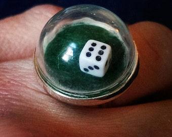 Let's go Vegas............. Casino Dice Ring