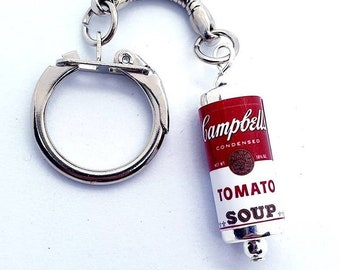 Campbell's Tomato Soup Keyring