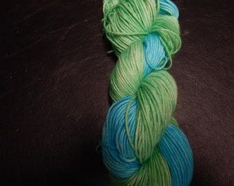 Tribute Merino DK - Green & Turquoise Duo