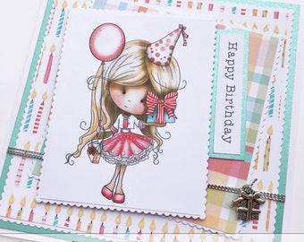Happy Birthday / Handmade Card / Birthday Card
