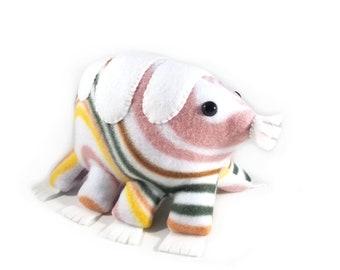 Tardigrade // plush toy // colorful swirls