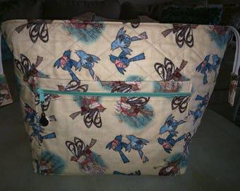 Handywoman Box Tape Loom Carry bag Song Birds