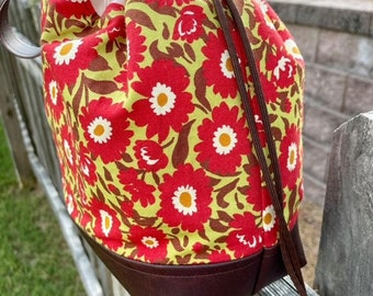 Floral Project Pouch