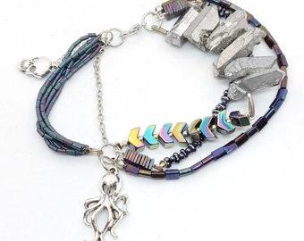 Pirate charm bracelet