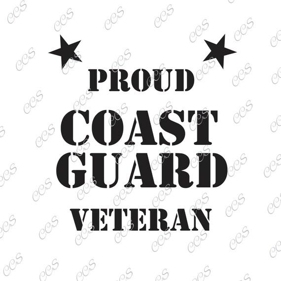 Coast Guard Veteran Veteran Usa U S Coast Guard Boats Etsy