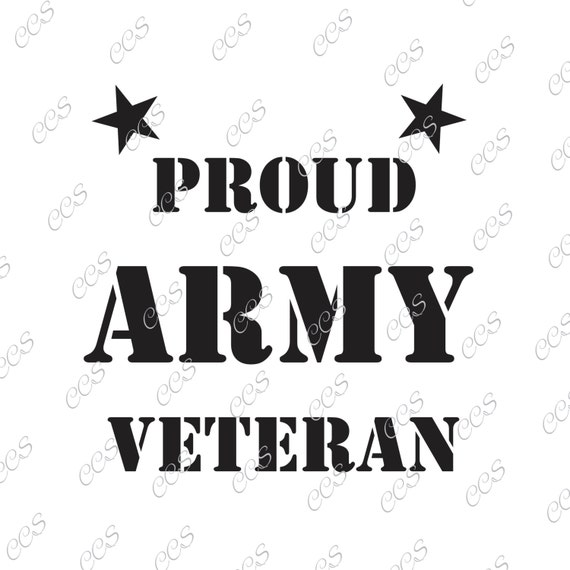 Army Veteran Veteran Usa U S Army Soldier Vector Svg Etsy