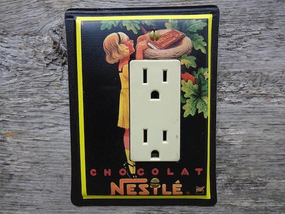 Black Decor Rocker Light Switch Plate Decorative Switchplates Gfci Cover Nestle Chocolate Tin Can Gfc 3075