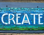 MADE TO ORDER Create Sign in Arts and Crafts Style