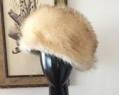 1960s Irene of New York Arctic Fox Fur Hat