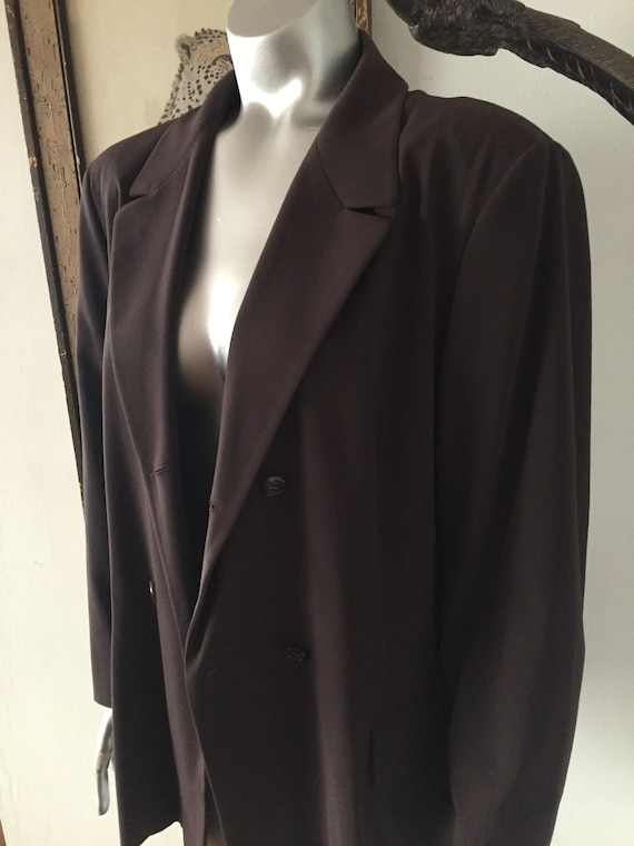 90s Jil Sander Double Breasted Suit Blazer and Pan