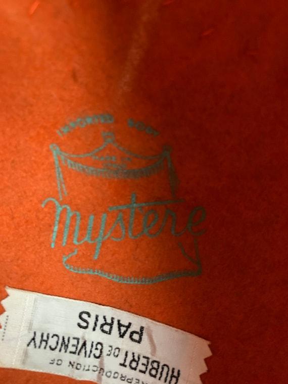 1960s Bright Orange Repro Givenchy Joseph Magnin … - image 8