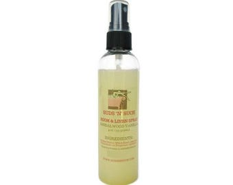Sandalwood Vanilla Room and Linen Spray - Air Freshener- Car Spray - Bathroom Spray - Phthalate Free Fragrance - Odor Eliminator