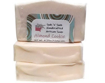 Almond Cookie Handmade Soap - Almond Oil Soap