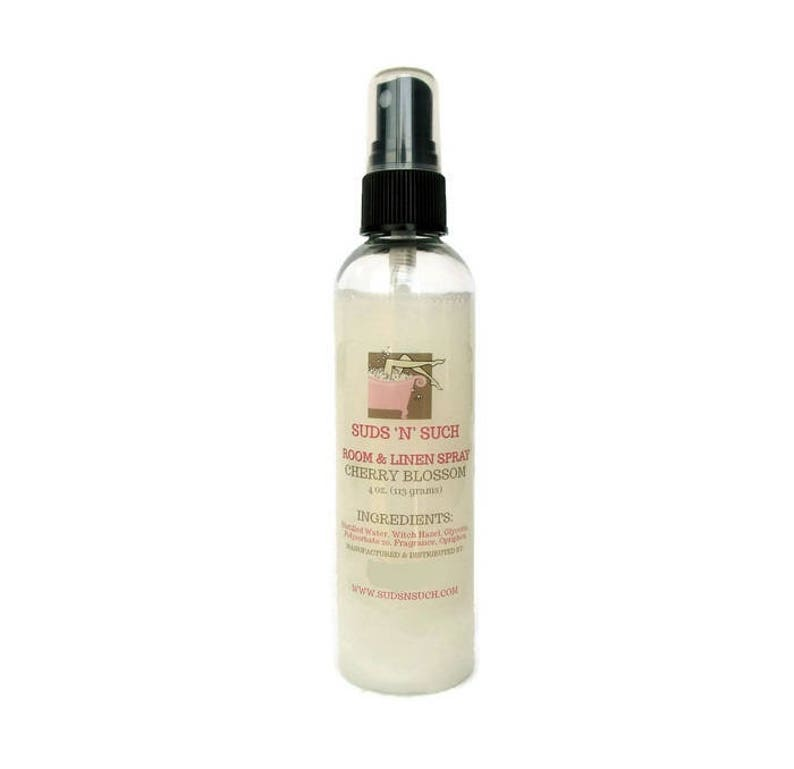 Cherry Blossom Air Freshener  Room and Linen Spray  Floral image 0