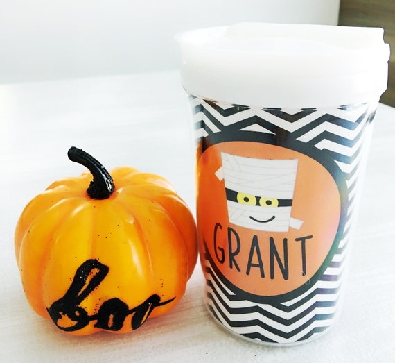 kids personalized halloween cup mummy sippy cup kids mummy