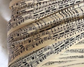 Vintage Music~ Moravian German Froebel Star Paper (52 strips)
