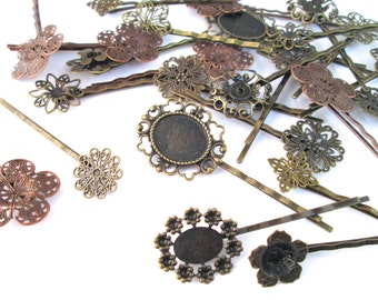 Assorted Bobby Pins, Hair Clips Pick Your Amount, #C122
