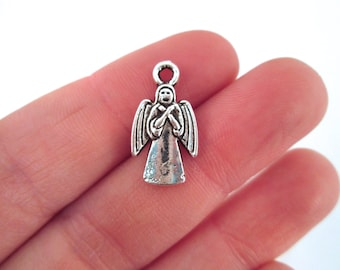 Set of 6 Weeping Angel Charm