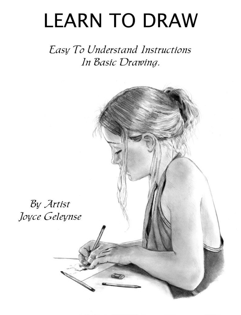 How to draw realistically e book learn pencil art pdf tutorial instant download learn sketching shading realism drawing