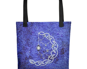 Celtic Moonlights by Mary Layton Tote bag