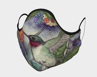 Hummingbird Face Mask