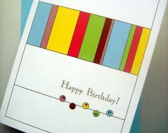 Sparkles Happy Birthday Card