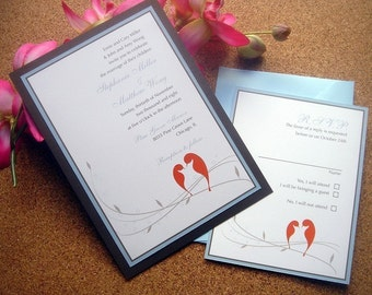 Love Birds, Invitations de mariage