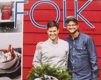 Ben Ashby's FOLK magazine Holiday 2012 RARE issue /creative/cooking/DIY