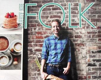 Ben Ashby's FOLK magazine Winter 2013 RARE issue /creative/cooking/DIY